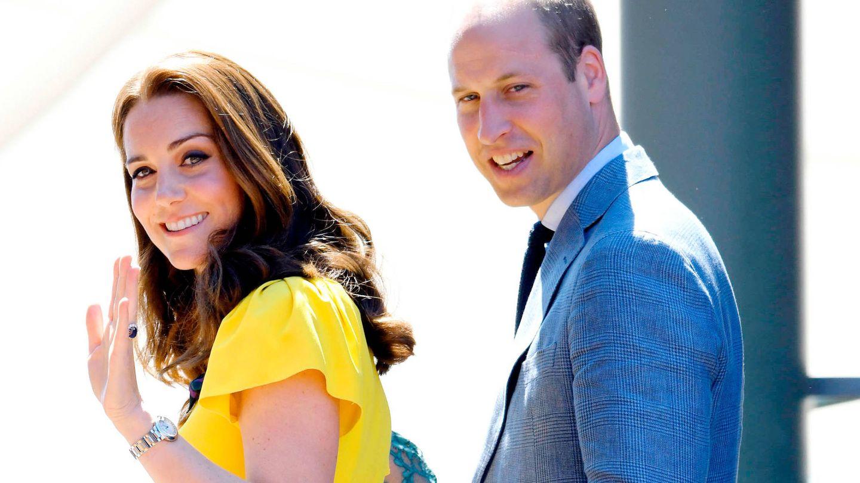 Kate Middleton y el príncipe Guillermo, en una foto de archivo.  (Getty)