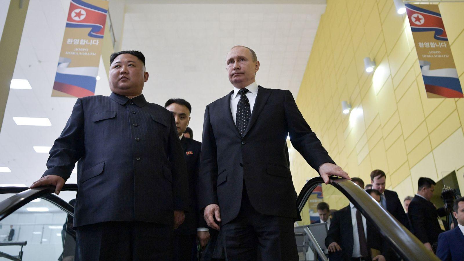 Resultado de imagen para Kim regresa a Pionyang sin acuerdos concretos con Putin