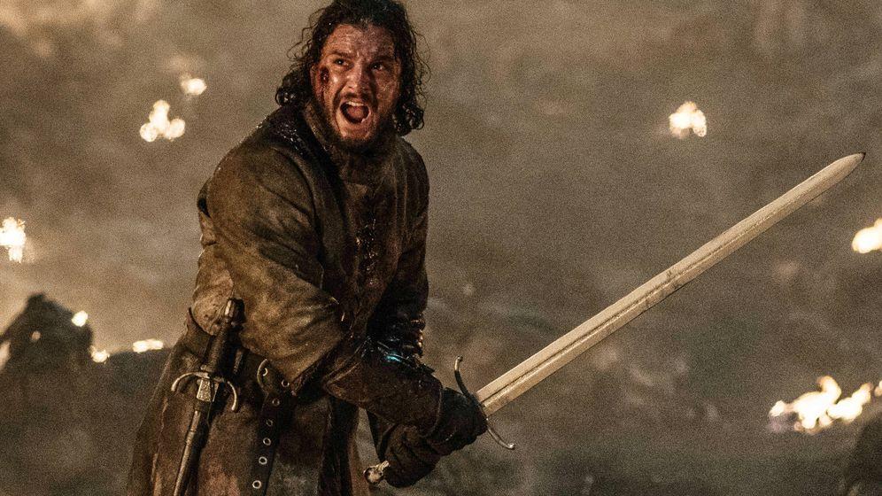 Foto: Jon Nieve, personaje de 'Juego de tronos'. (HBO)