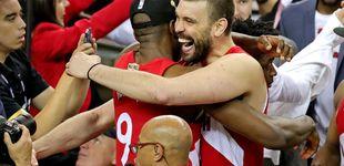 Post de El anillo español de los Toronto Raptors: de Marc Gasol a José Manuel Calderón