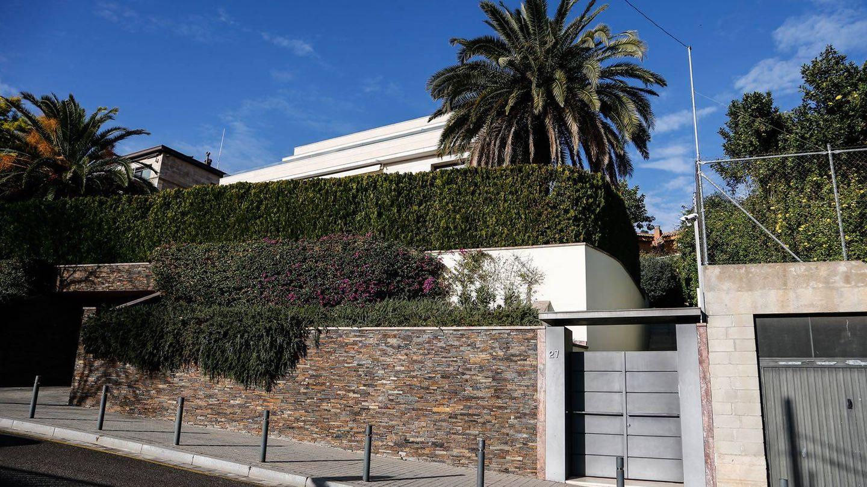 Imagen de la mansión de Ousmane Dembélé en Pedralbes, Barcelona. (Foto: Quimi Ortiz)