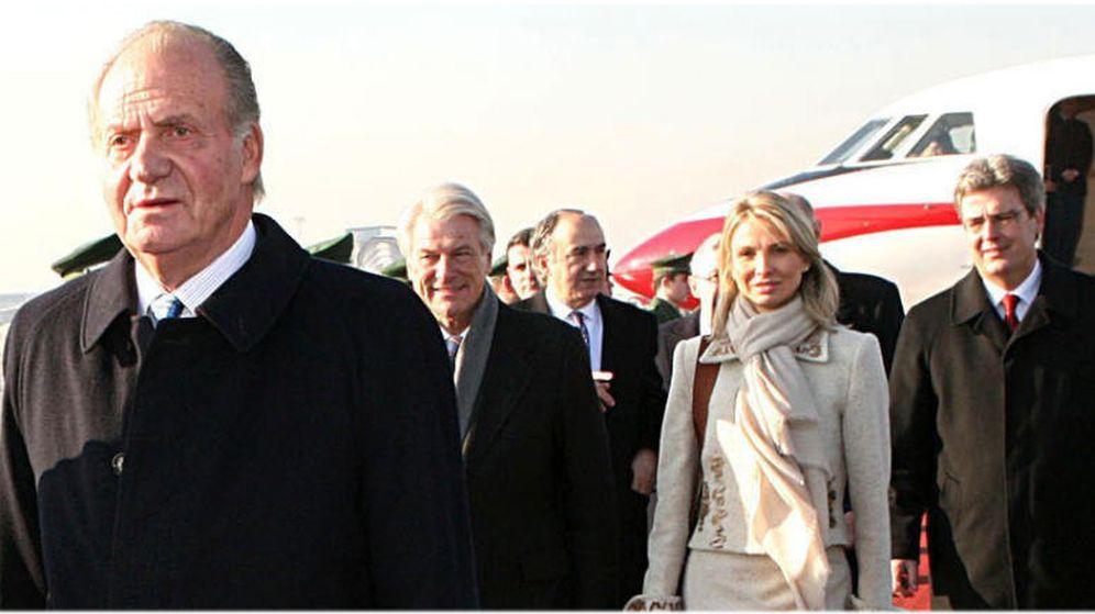 Foto: El rey Juan Carlos con Corinna en una imagen de archivo (Gtres)