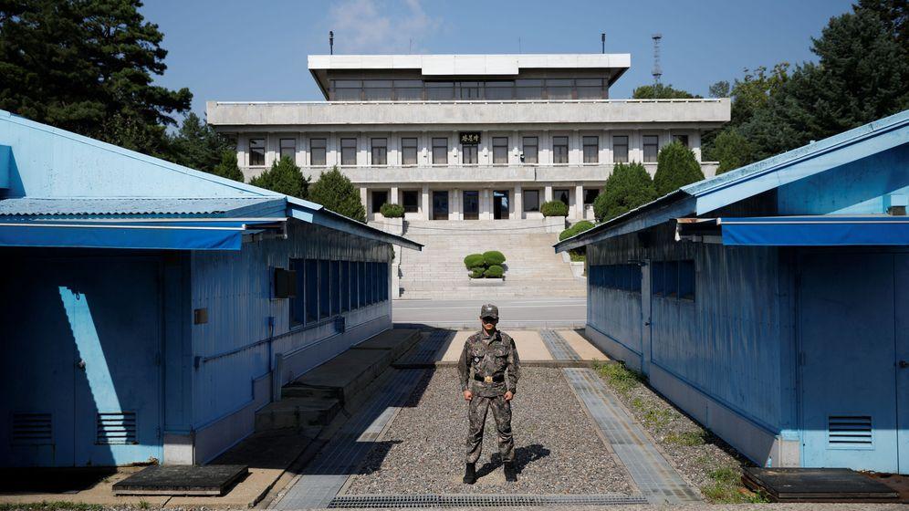 Foto: La deportación se produjo a través de la zona desmilitarizada de Panmunjom, que divide la Península de Corea (Reuters/Kim Hong-Ji)