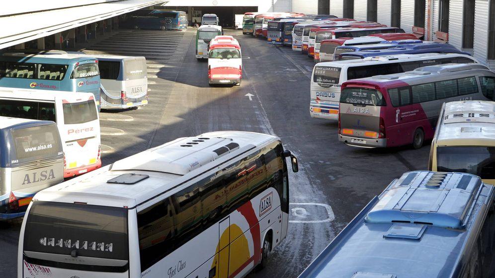 Foto: La Estación Sur de Autobuses en Madrid, principal nudo de este tipo de transporte en la capital. (EFE)