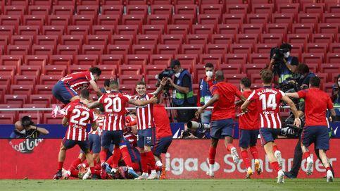Coraje, pero también pizarra: así atravesó el Atlético de Simeone la tormenta perfecta