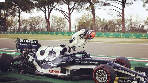 Debe controlarse si quiere seguir en la F1. El corte de digestión del glotón Yuki Tsunoda