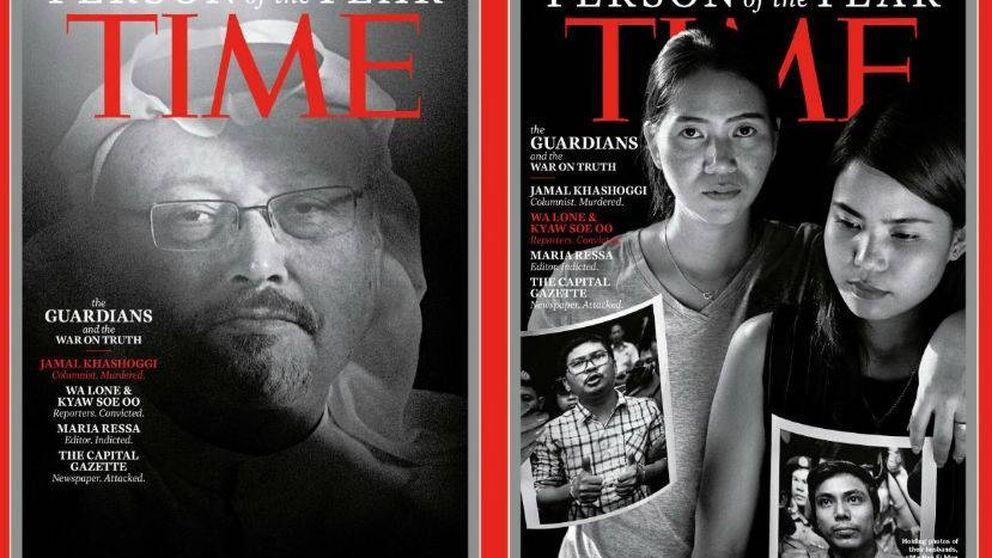 Jamal Khashoggi y los demás 'guardianes' de TIME: las historias detrás de la portada