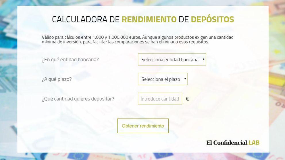 Calculadora de depósitos: conozca la rentabilidad que le pagará cada banco