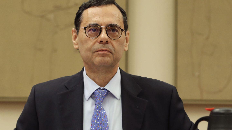 Jaime Caruana durante su comparecencia en la Comisión de Investigación del Congreso de los Diputados. (EFE)