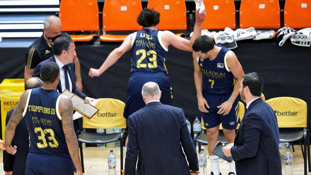 El Real Madrid, fuera de las semifinales de la ACB por primera vez en la 'era Laso'