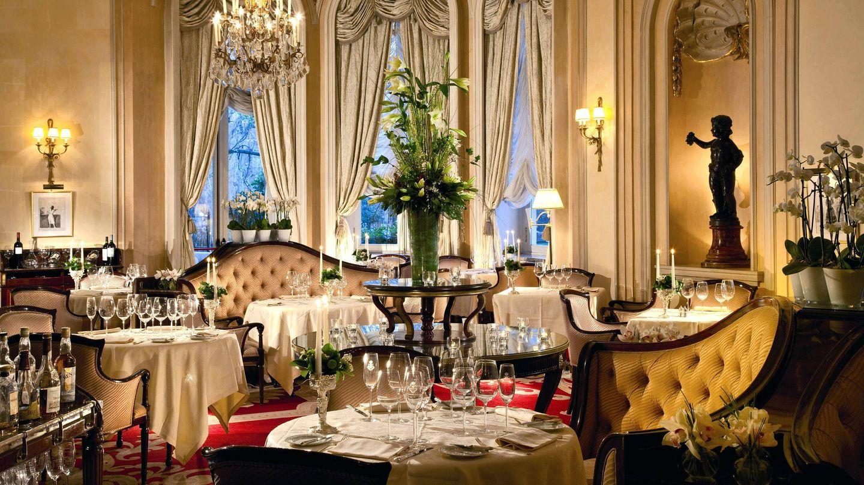Imagen cedida por el hotel Ritz de uno de sus salones. (EFE)