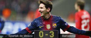 Así vivimos en directo el partido de Liga de Campeones entre el Spartak y el Barcelona