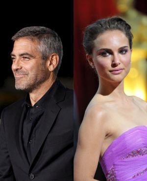 George Clooney y Natalie Portman, en la remake americano de Millenium