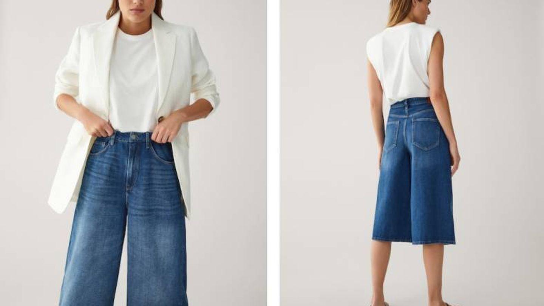 Falda pantalón de Massimo Dutti. (Cortesía)