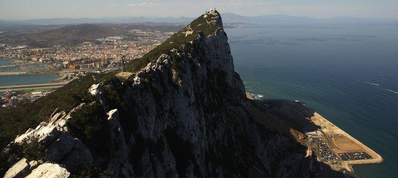 Foto: Imagen del peñón de Gibraltar. (Reuters)