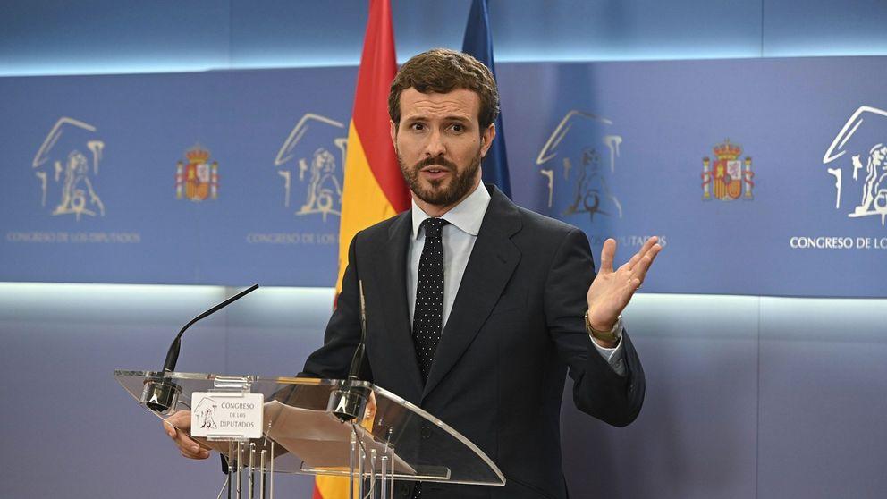 Casado culpa a Sánchez: Quería elecciones y lo ha conseguido