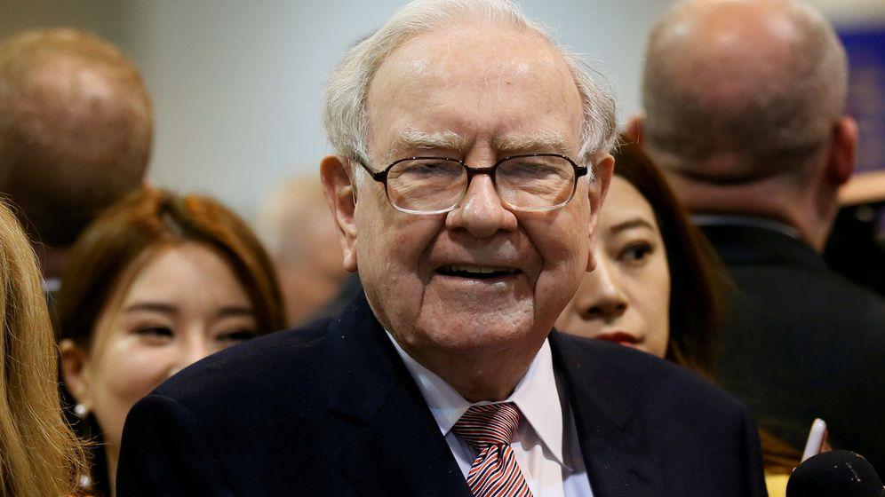 Foto: Warren Buffett, CEO de Berkshire. (Reuters)