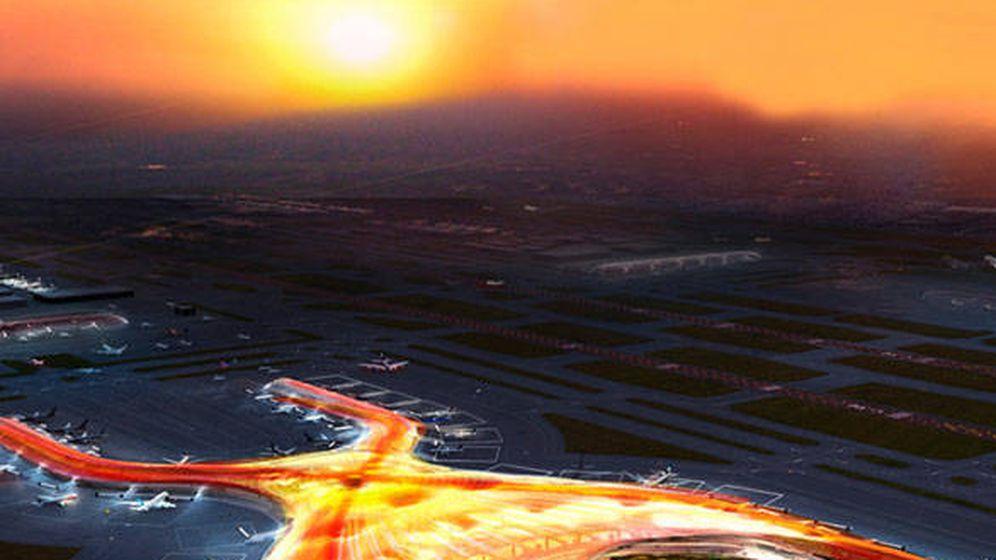 Foto: Maqueta del futuro aeropuerto de Ciudad de México.