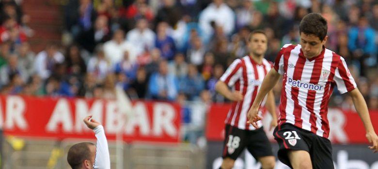 Foto: Ander Herrera, en un partido con el Athletic Club la pasada temporada.