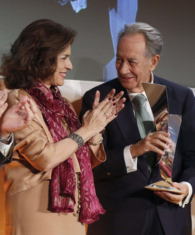 Foto: Juan Miguel Villar Mir y Ana Botella. (EFE)