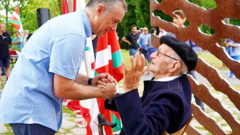 Fallece a los cien años José Moreno, conocido como el último gudari