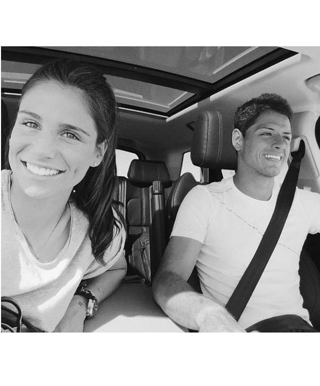 Foto: Lucía Villalón y Javier 'Chicharito' Hernández (Instagram)