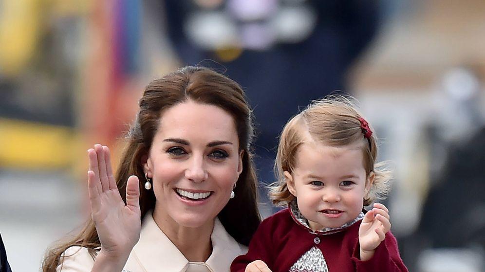 Foto: Kate Middleton y la princesa Charlotte. (Gtres)