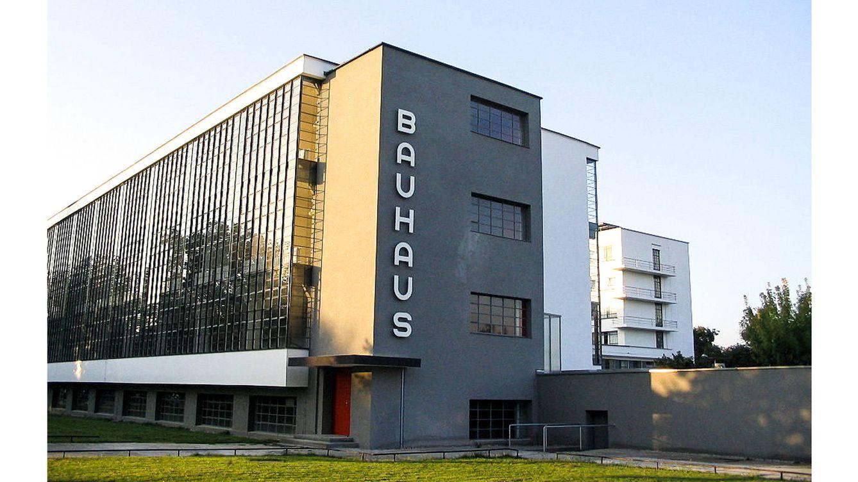 Foto: Sede original en Weimar (Alemania) de la Bauhaus.