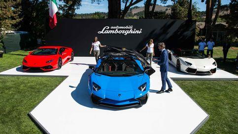 Un Lamborghini descapotable a 350 km/h