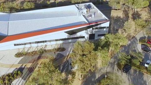La arquitecta del hangar de la URJC diseñaba ya los planos un año antes de ganar el concurso