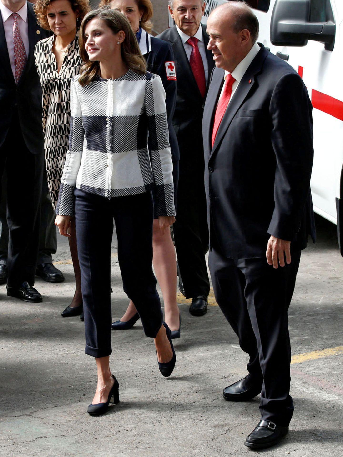 La Reina, en México. (Reuters)