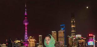 Post de Georgina Rodríguez, novia de Cristiano: la dama de Shanghái (sin Orson Welles)