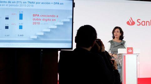El Santander titubea en bolsa tras anunciar la vuelta al scrip dividend