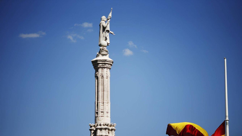 Foto: Un icono a este lado del Atlántico, un personaje más allende los mares. (Reuters/Susana Vera)