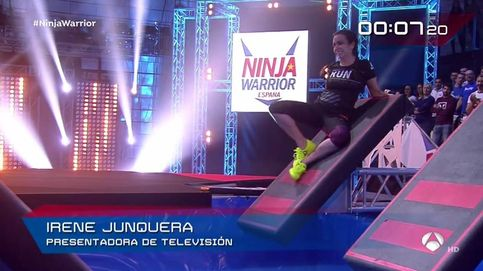 Irene Junquera y su novio decepcionan en 'Ninja Warrior'