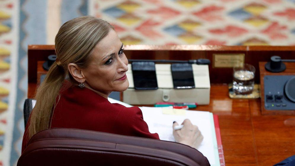 Foto: La presidenta de la Comunidad de Madrid, Cristina Cifuentes