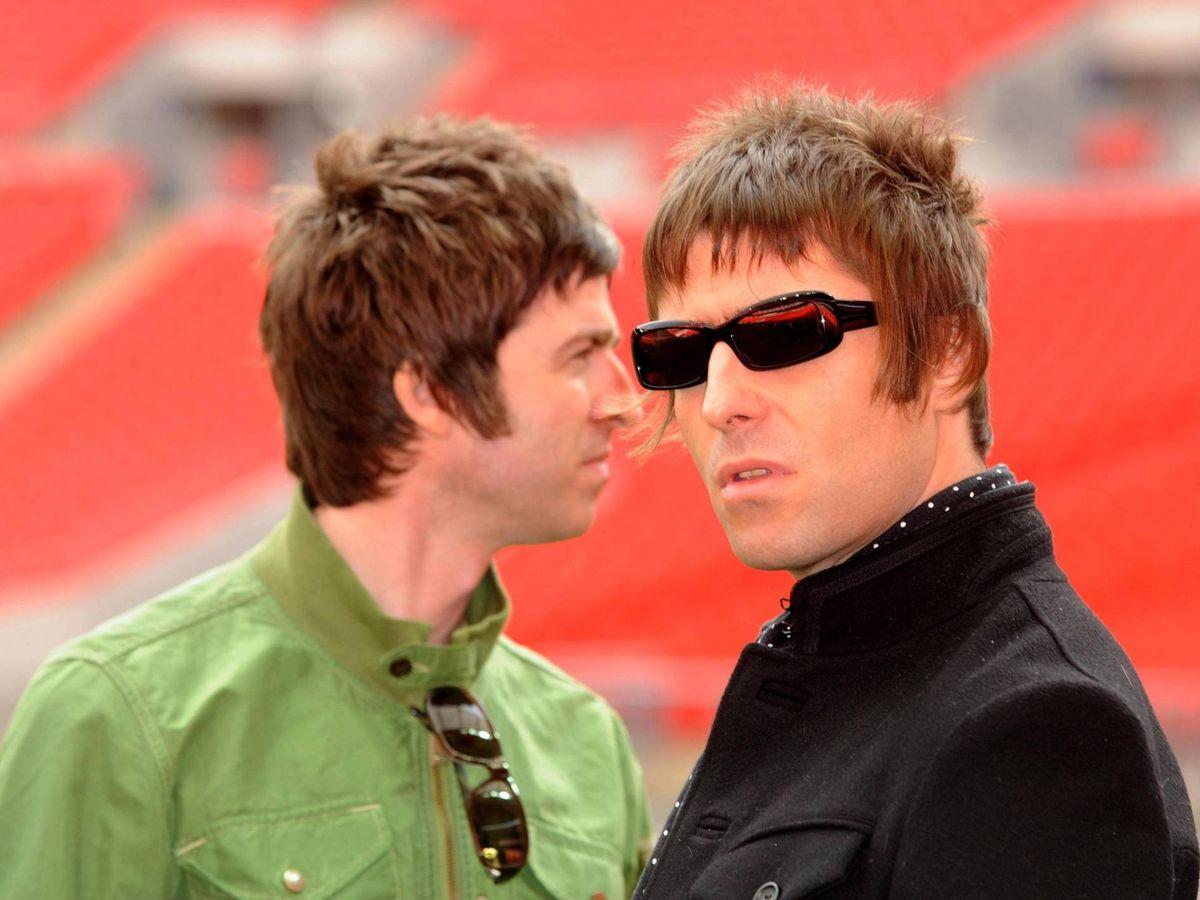 Foto: Noel y Liam Gallagher. (Cordon Press)