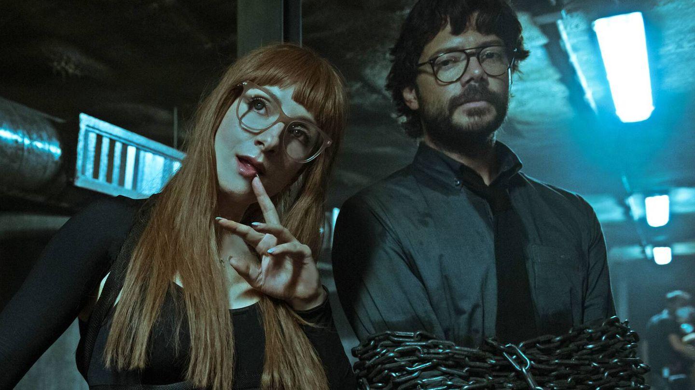 Alicia Sierra y el Profesor. (Netflix)