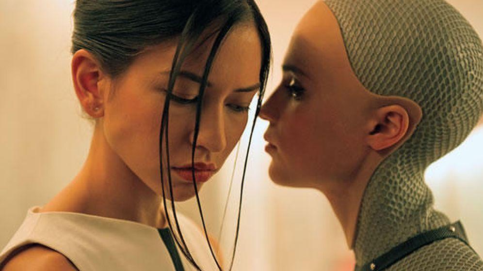 Foto: Imagen de la película Ex Machina.