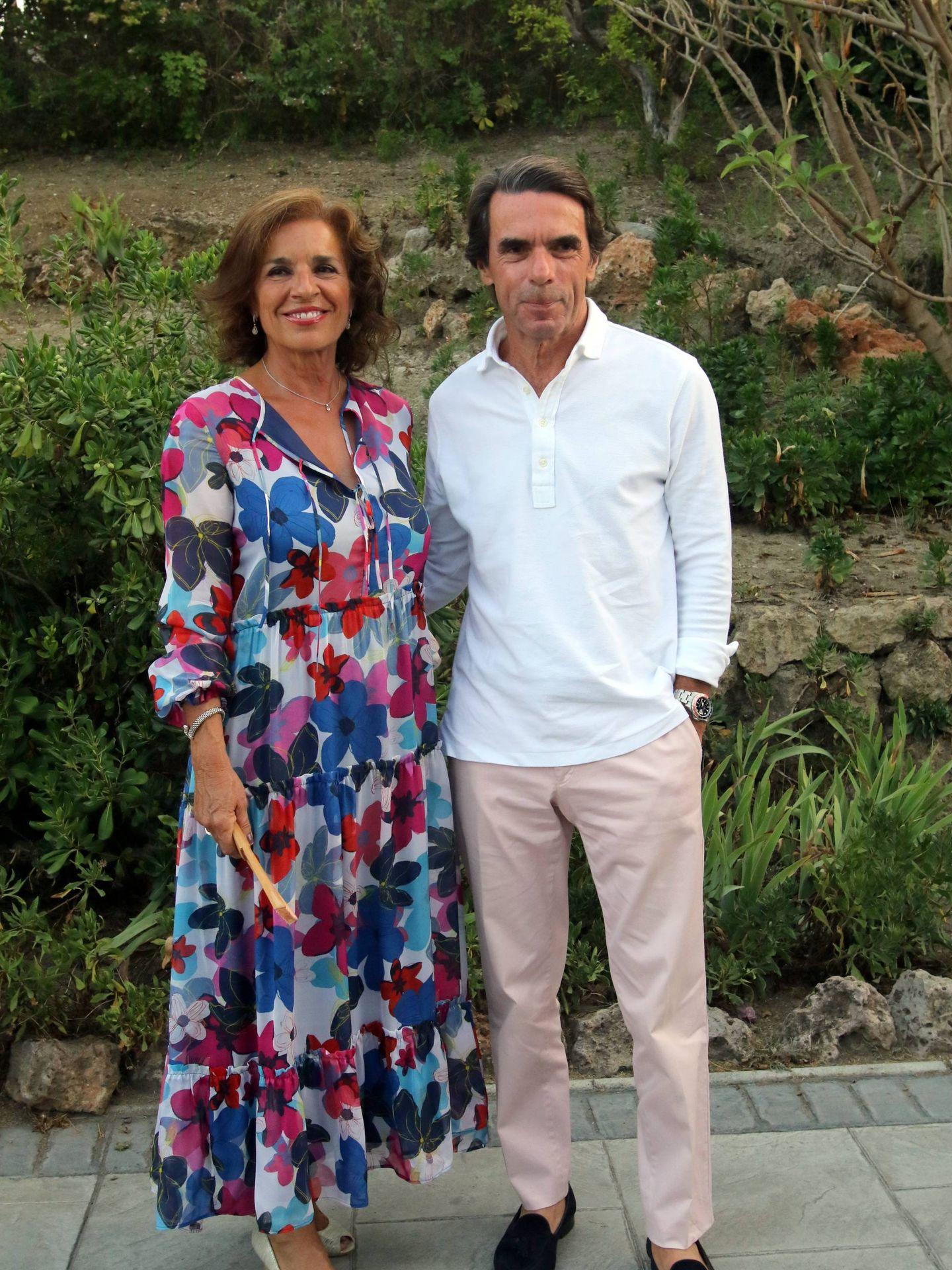 El matrimonio, posando en la Gala Contra el Cáncer de Marbella. (Cordon Press)