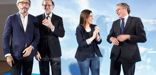 Post de Mariano Rajoy como última baza del PP vasco para remontar el vuelo en Vitoria