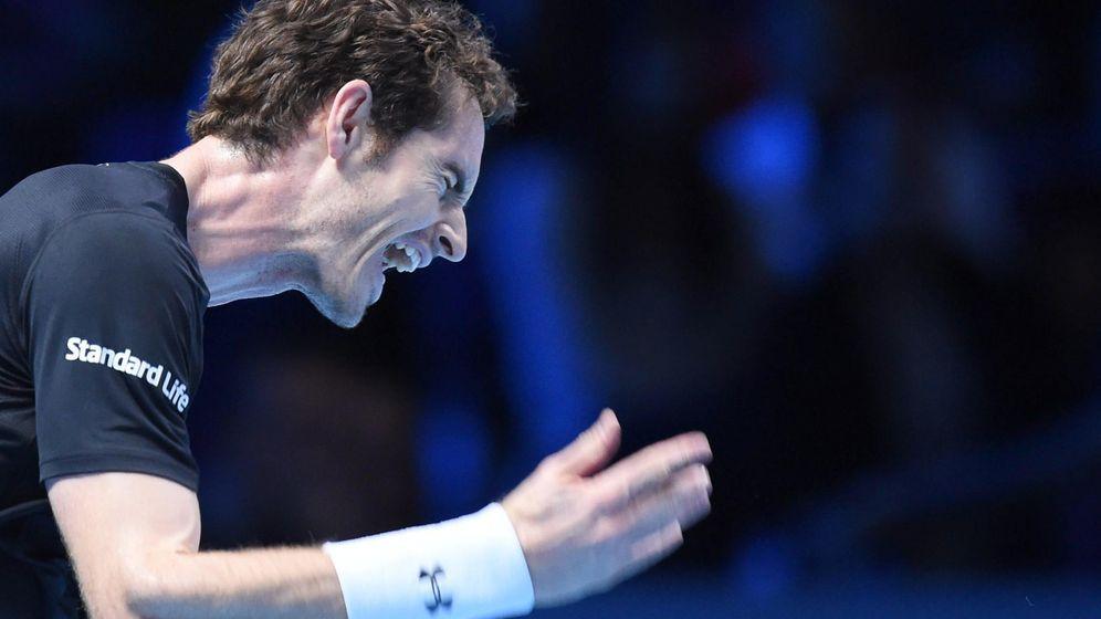 Foto: Andy Murray en el pasado Torneo de Maestros (EFE)