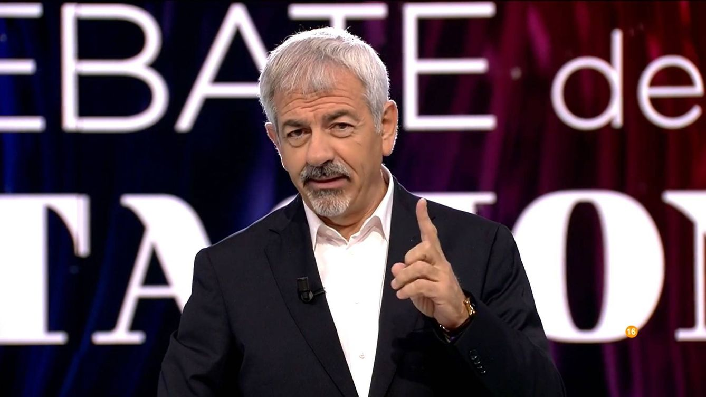 Carlos Sobera sale en defensa del modelo de televisión que hace Telecinco