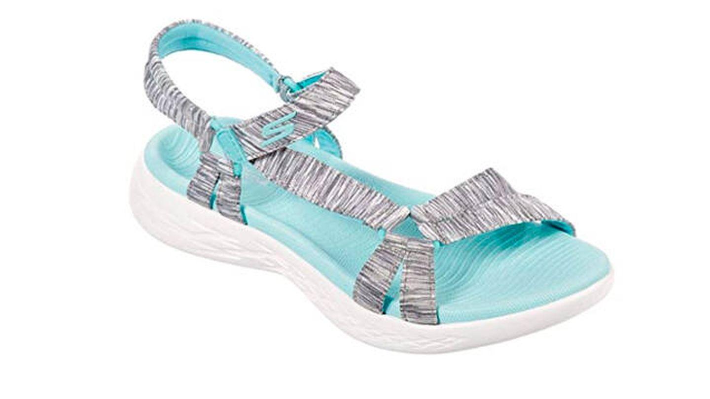 Sandalias Skechers On-The-go 600-Brilliancy, sandalia deportiva para mujer