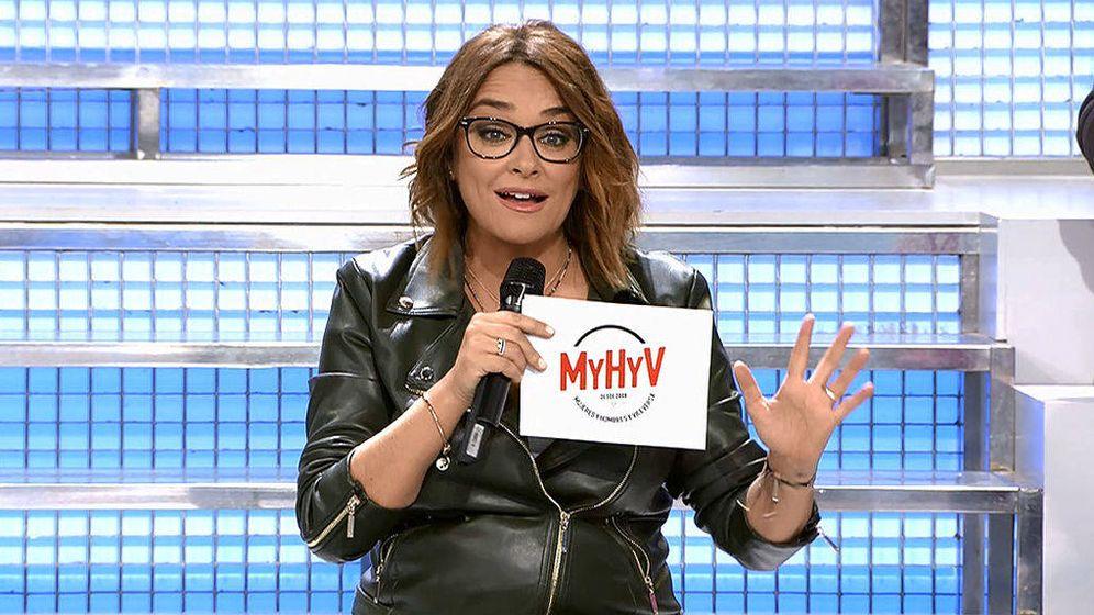 Foto: Toñi Moreno en 'MYHYV'. (Mediaset España)