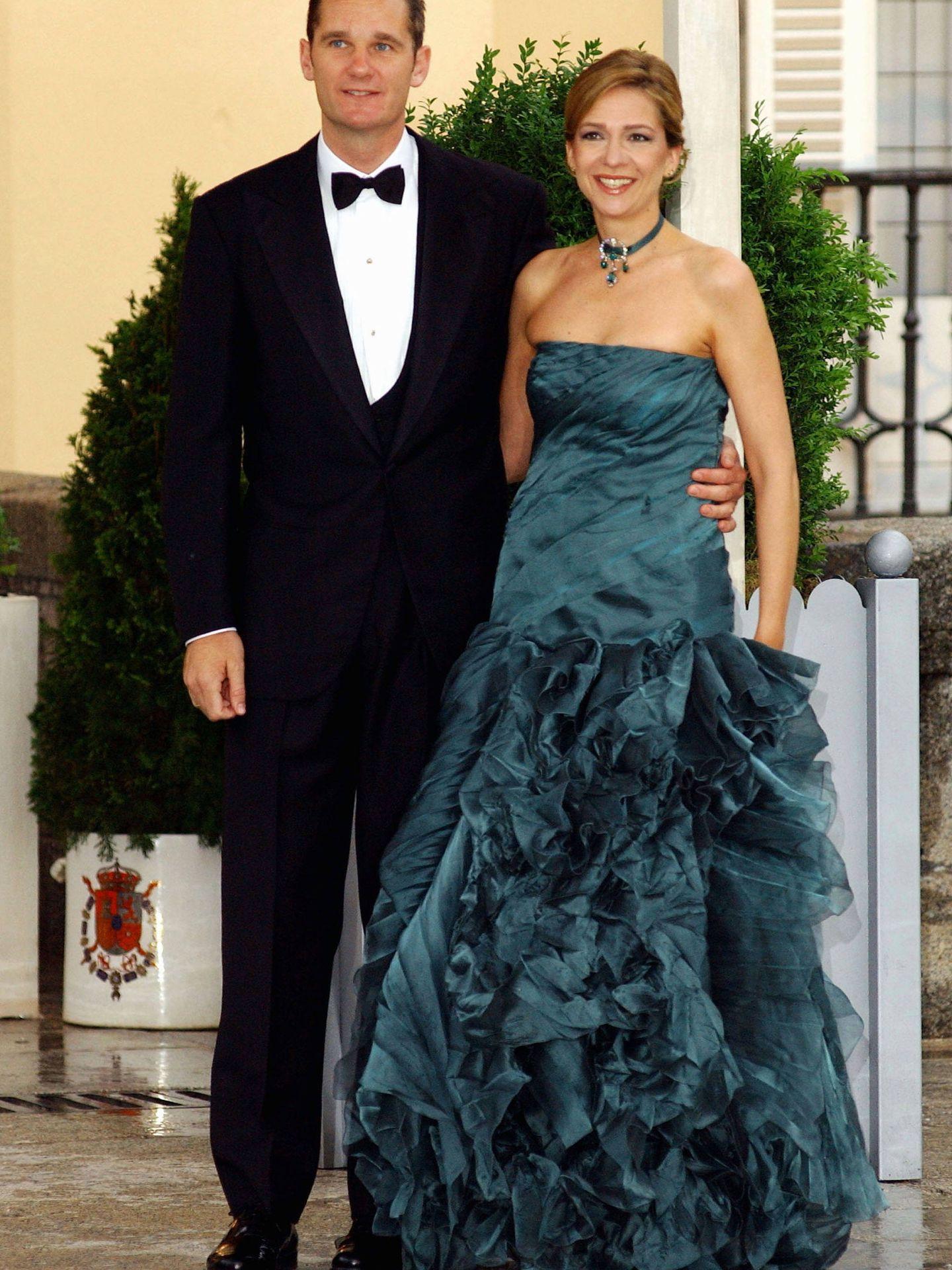 Los Urdangarin de Borbón, en 2004. (Getty)