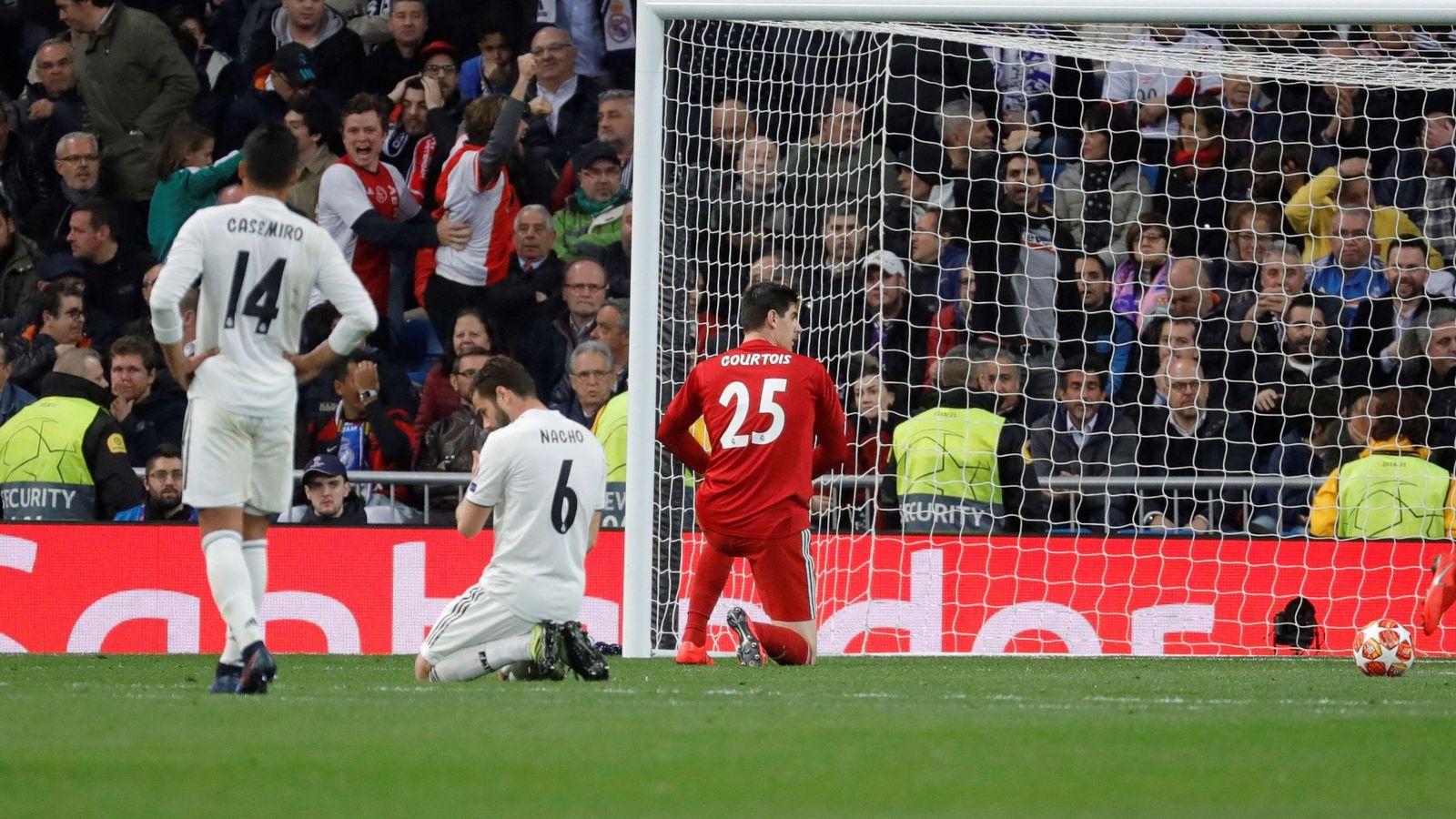 Foto: El Real Madrid tocó fondo en seis días en los que se despidió de luchar por tres títulos. (Reuters)