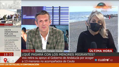 Joaquín Prat, obligado a pedir perdón en Cuatro por enfocar un cadáver en Ceuta