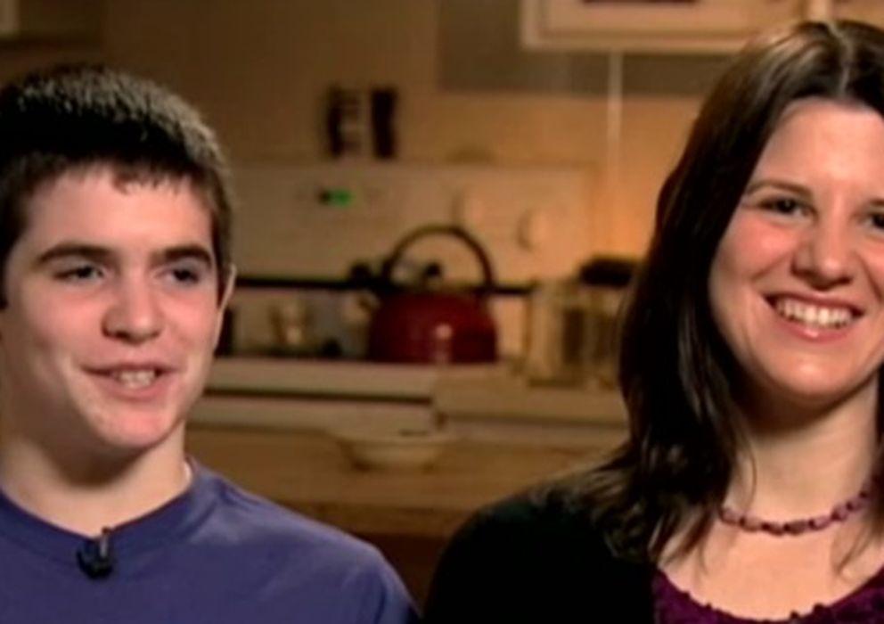 Foto: Greg Hoffman con su madre.