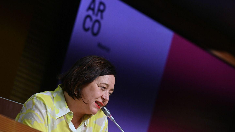 La directora de ARCOmadrid, Maribel López (EFE)